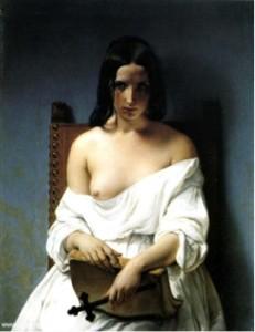 F. Hayez, La meditazione (L'Italia nel 1848)