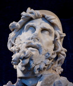Testa di Ulisse. Sperlonga, Gruppo di Polifemo